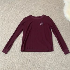 "Woman's American Eagle ""Free to wander"" crewneck"